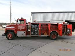 1981 FORD FIRE Truck - General Fire Pumper - $4,050.00 | PicClick