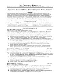 Sample Resume Of A Territory Sales Manager Valid Templates
