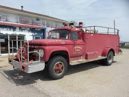 Ford Fire Truck From Late 1960s | Fire Trucks | Pinterest | Fire ...