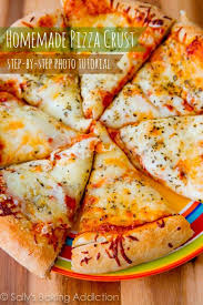 How To Make Homemade Pizza Crust A Step By Photo Tutorial