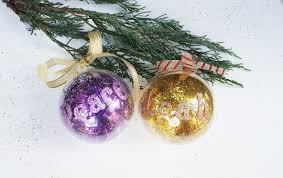 Christmas Tree Name Baubles by Diy Personalised Baubles The Reject Shop