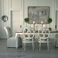 ethan allen dining table chairs room furniture used pads round and