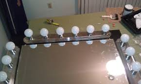 Vanity Table With Lights Around Mirror by Broadway Style Vanity Mirror C Milli Com