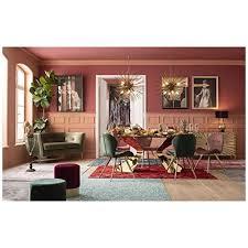 kare design tisch gloria gold glastisch gold luxus glastisch extravaganter esstisch öser schreibtisch h b t