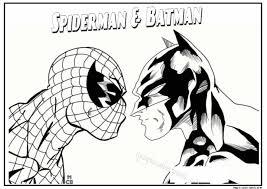 Spiderman Hero Printable Coloring Pages 05