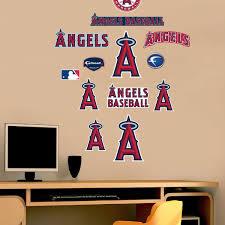 Fathead Princess Wall Decor by Mlb La Angels Fathead Jr Baseball Team Logo Wall Sticker Set