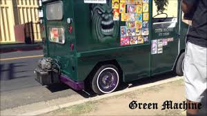 100 Lowrider Ice Cream Truck Green Machine YouTube