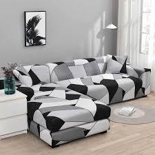 chaiselongue sofa abdeckungen für wohnzimmer benötigen kaufen 2 stück abdeckung elastische abdeckung stretch l form ecke sofa schutzhülle