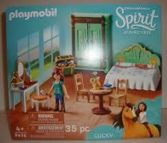 details zu playmobil spirit free 9476 lucky s bedroom set new