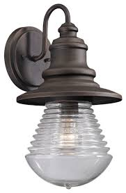 westport 1 light outdoor sconce weathered charcoal style