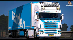 Scania R 2008 W&B Transport   Euro Truck Simulator 2 (ETS2 1.30 Mod)
