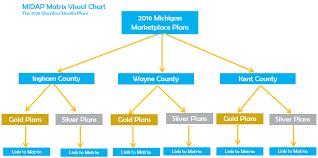 MDHHS MIDAP Insurance Matrix Home Page