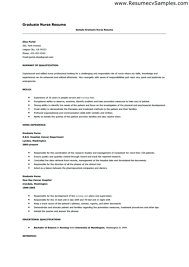 Rn Resume Examples New Grad Nursing Template Sample Ideas Nurse