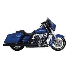 vance hines dresser duals exhaust black 921 646 j p cycles