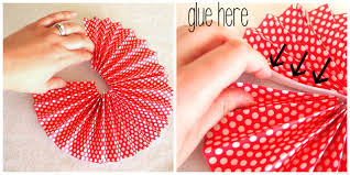 Bring The Ends Of Each Piece Together Forming A Circle And Glue