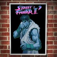 Street Fighter Game Poster