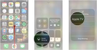 How to turn on screen mirroring in iOS 11