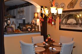 Halloween Decorations In The Dining Room Whimsical Lady