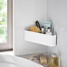 eckablage für das badezimmer