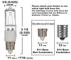 4 pack simba lighting 100 watt 120 volt halogen light bulbs e11