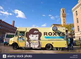 Mobile Food Truck Boston, Massachusetts Stock Photo: 49819975 - Alamy Food Truck Heaven Roxys Grilled Cheese Boston Truck Blog Reviews Ratings 2017 Sowa Beer Garden Block Party Series New England Festival 2015 Charlotte Julienne On Twitter And Just Like That Were Seven Pulled Pork Sandwiches Kevin Is Cooking Goingoutcom 485 Cambridge Street Allston Trucks Brick And Mortar Fantastic American Where To Find It Usa Travel