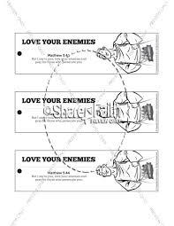 Matthew 5 Love Your Enemies Bible Bookmarks