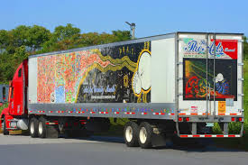 100 Virginia Truck And Trailer Pair Of Local Artists Take Art On The Road West