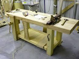 good wood workbench plans best house design