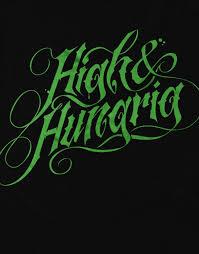 187 Strassenbande Shirt High & Hungrig Black – 187 Strassenbande Shop