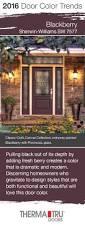 Owasso Christmas Tree Blackberry Farm by 2016 Door Color Trends Front Doors Blackberry And Doors