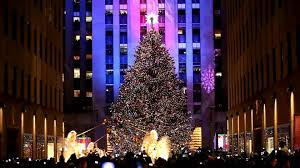 Rockefeller Plaza Christmas Tree Location by Nyc Rockfeller Center Christmas Tree Lighing November 30 2010
