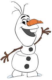 Frozen clipart olaf snowman 2