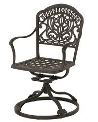 Hanamint Grand Tuscany Patio Furniture by Tuscany By Hanamint Luxury Cast Aluminum Patio Furniture Swivel