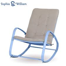 Sophia And William Outdoor Patio Rocking Chair Padded Steel Rocker Chairs  Support 300lbs, Blue Patio Fniture Accsories Rocking Chairs Best Choice Amazoncom Wood Slat Outdoor Chair Light Blue Upc 8457414380 Polywood Presidential Pacific Jefferson Recycled Plastic Cushioned Rattan Rocker Armchair Glider Lounge Wicker With Cushion Grey Quality Wooden Fredericbye Home Hanover Allweather Adirondack In Aruba Hvlnr10ar Us 17399 Giantex 3 Pc Set Coffee Table Cushions New Hw57335gr On Aliexpress Dark Folding Porch Winado 533900941611 3pieces