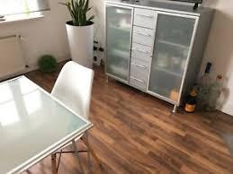details zu sideboard highboard anrichte vitrine milchglas design grau esszimmer wohnzimmer