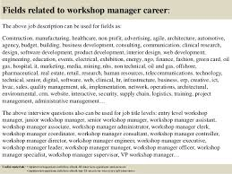 Sales Resume Samples Hiring Managers Will Notice Sample Of Workshop Manager