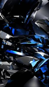 Wallpaper iphone 6 plus crystal blue 5 5 inches