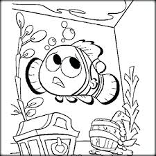 Finding Coloring Pages Nemo Book Pdf Colouring Download Large Size