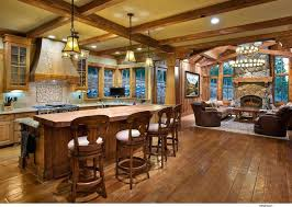 Rustic Open Floor Plans Crazy 9 Home Best Ideas About House On