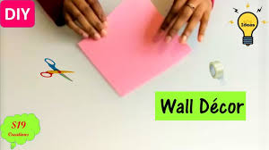 DIY Projects Video Easy Wall Decor Idea With Paper
