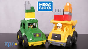MEGA Bloks CAT Lil' Dump Truck & John Deere Lil' Tractor From MEGA ... Mega Bloks Caterpillar Large Dump Truck What America Buys Dumper 110 Blocks In Blandford Forum Dorset As Building For Your Childs Education Amazoncom Mike The Mixer Set Toys Games First Builders Food Setchen Mack Itructions For Kitchen Fisherprice Crished Toy Finds Kelebihan Dcj86 Cat Mainan Anak Dan Harga Mblcnd88 Rolling Billy Beats Dancing Piano Firetruck Finn Repairgas With 11 One Driver And Car