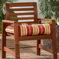 Amazon Prime Patio Chair Cushions by Amazon Com Greendale Home Fashions 20 Inch Indoor Outdoor Chair