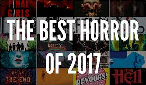 A Collage Of Covers The Best Horror Books 2017