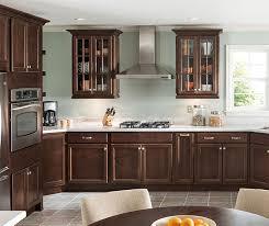 Schrock Kitchen Cabinets Menards by Delmont Cherry Bison Schrock At Menards