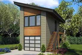 100 Contemporary House Siding 1 Car Garage Studio Apartment Plan 7210 Greenlee