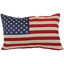 Amazon Brentwood Originals 8377 American Flag Tapestry Toss
