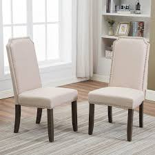 Merax Set Of 2 Stylish Upholstered Fabric Dining Chairs With Nailhead  Detail And Solid Wood Legs Beige Grey Linen Herringbone Ding Chair Set Of Two Stylish Chairs From Amazon To Upgrade Your Room Rex Mouse Velvet 2pk Jerry White Ding Chair With Solid Oak Legs Stylish Ding Chair With Light Grey Linen Fabric Leather 6 Pieces Black In Dewsbury West Yorkshire Gumtree Lowmediumhigh Upholstered For Any Budget Product Of The Week A Pair Alexa Caroline Antique 46 Modern Side High Backrest Metal Frame Legs Pu Turin Light Oak Low Back Gold Fabric
