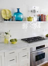 a look that is never out of date white subway tile