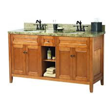 Bathroom Sink Home Depot Canada by Foremost Naples 61 In W X 22 In D Bath Vanity In Distressed Grey