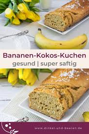 gesundes bananen kuchen